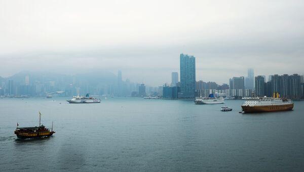 Vue de la mer à Hong Kong - Sputnik France