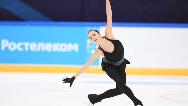 Alina Zagitova during the test skates of Russia's national team in Moscow on September 9 - Sputnik France