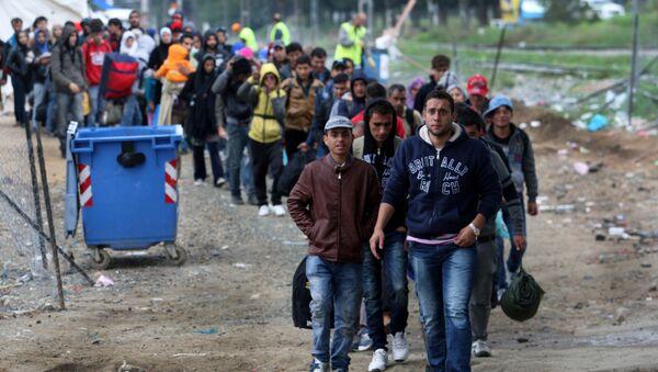Des migrants (Image d'illustration) - Sputnik France