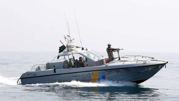 Membres de la patrouille des gardes-frontières saoudiens - Sputnik France