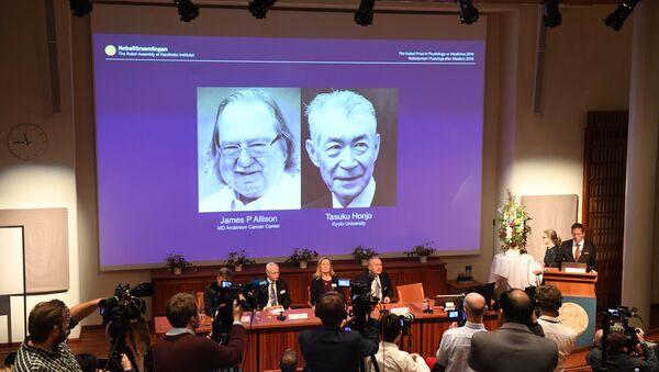 2018 Nobel Tıp Ödülü - Sputnik France