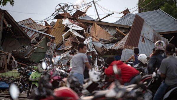 le séisme en Indonésie - Sputnik France