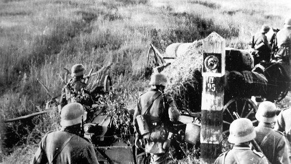 Les forces allemandes à la frontière soviétique, le 22 juin 1941 - Sputnik France