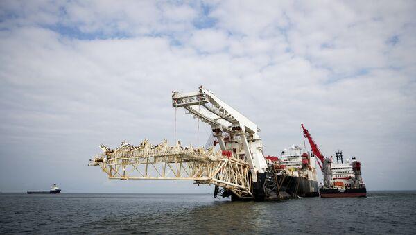 Travaux de construction du gazoduc Nord Stream 2 en mer Baltique - Sputnik France