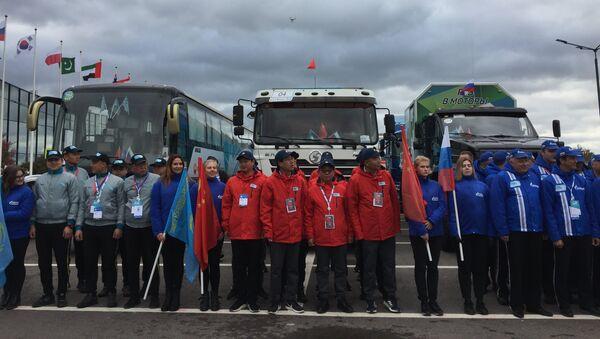 La course à travers la Chine, le Kazakhstan et la Russie terminée à Saint-Pétersbourg - Sputnik France