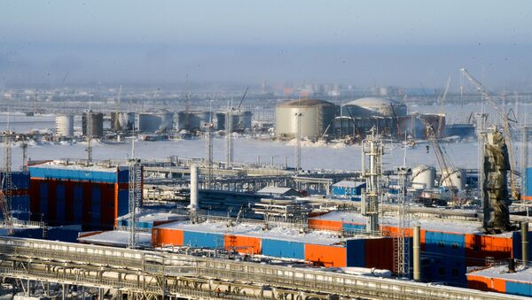 La planta rusa Yamal LNG - Sputnik France