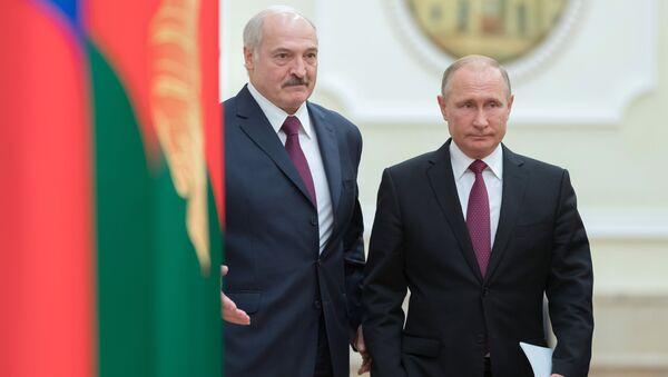 Loukachenko et Poutine - Sputnik France