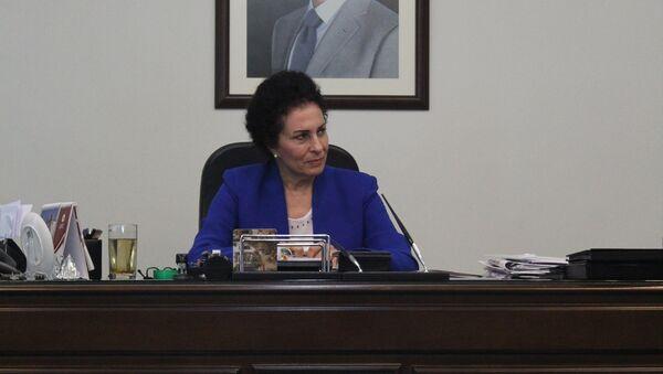 Salwa Al-Abdullah, ministre syrienne du Développement social et du Travail - Sputnik France