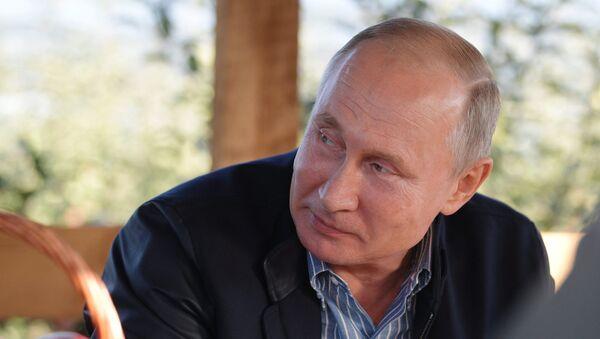Vladimir Poutine (image d'archive) - Sputnik France