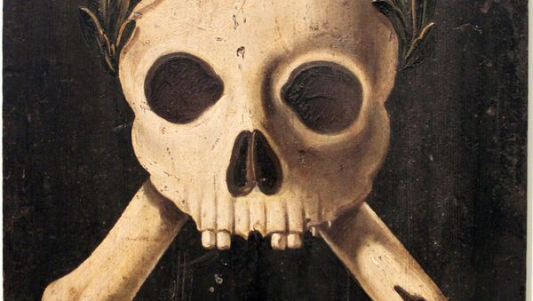 Plague panel with the triumph of death. Panels of this kind were placed on the walls of houses to warn against the plague. A plague epidemy raged in Augsburg between 1607 and 1636. - Sputnik France