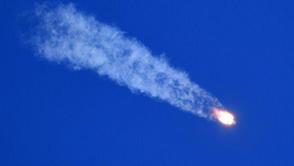 Décollage du lanceur Soyouz-FG avec le vaisseau spatial Soyouz MS-10 - Sputnik France