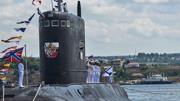 Le sous-marin diesel-électrique Krasnodar - Sputnik France