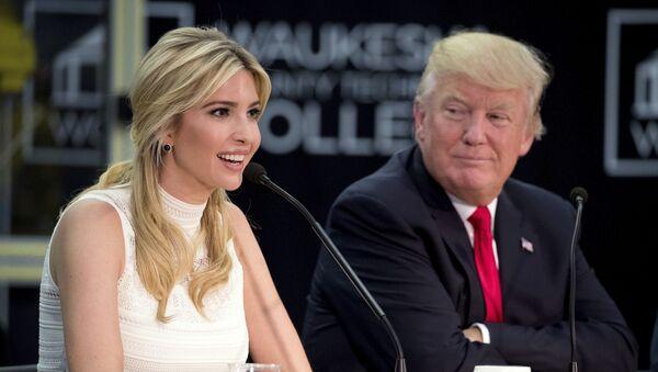 Donald Trump et sa fille Ivanka - Sputnik France