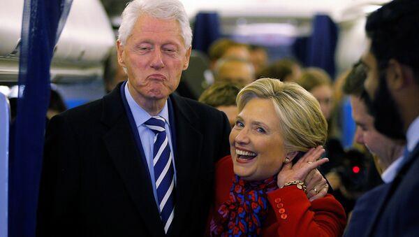 Hillary Clinton - Bill Clinton - Sputnik France