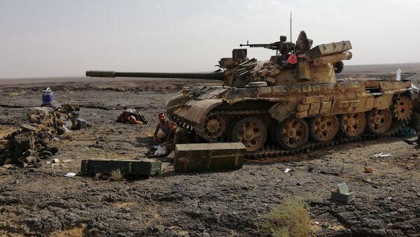 Char de l'armée syrienne - Sputnik France