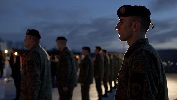 Żołnierze Sił Bezpieczeństwa Kosowa - Sputnik France