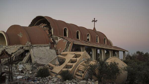 Un village chrétien dans la province d'Hassaké détruit par les terroristes - Sputnik France