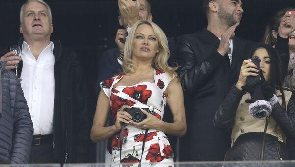 Pamela Anderson, actriz estadounidense - Sputnik France