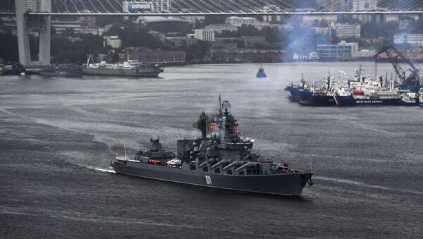 Le groupe naval de la Flotte du Pacifique part de Vladivostok - Sputnik France