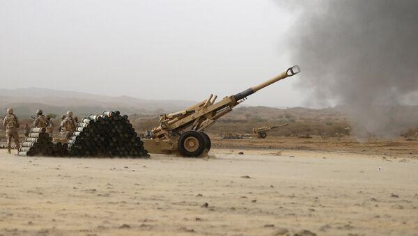 L'artillerie saoudienne (image d'illustration) - Sputnik France