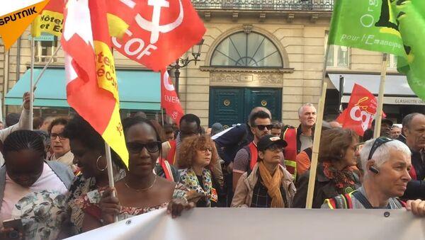 Les femmes de chambre de l'hôtel Park Hyatt Vendôme toujours en colère - Sputnik France