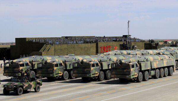 Combien la Chine possède-t-elle de missiles capables d'atteindre les USA? - Sputnik France