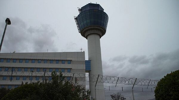 L'aéroport international d'Athènes connu sous le nom d'aéroport Elefthérios-Venizélos - Sputnik France