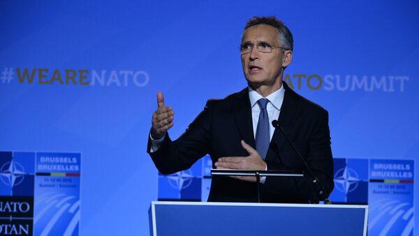 Jens Stoltenberg, secrétaire général de l'Otan - Sputnik France