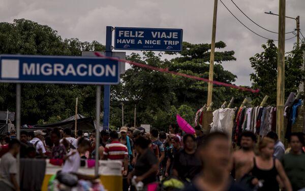 Des caravanes de Honduriens «à l'assaut» des États-Unis - Sputnik France