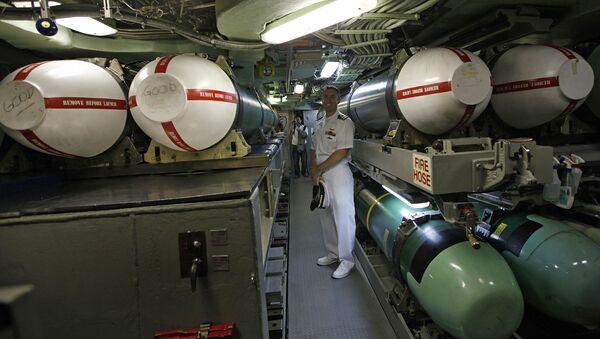 Ракеты Tomahawk на борту подлодки USS Hampton - Sputnik France