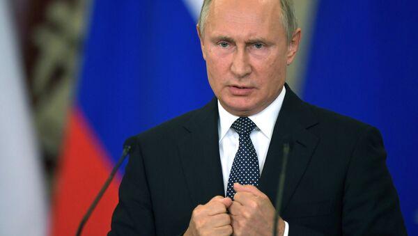 Russlands Präsident Wladimir Putin - Sputnik France