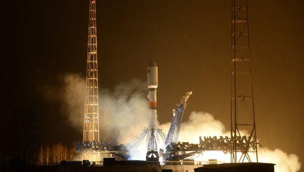 Le lanceur Soyouz-2.1b tiré depuis le cosmodrome de Plessetsk - Sputnik France