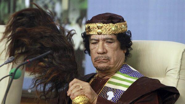 Moammar Gadhafi - Sputnik France