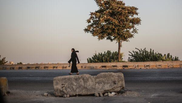 Femme syrienne, image d'illustration - Sputnik France