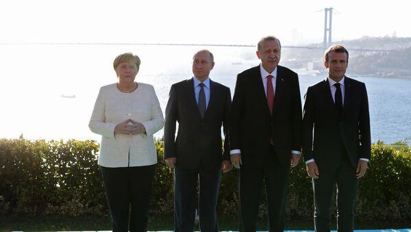 Рабочий визит президента РФ В. Путина в Турцию - Sputnik France