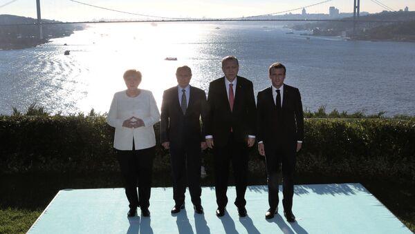 Vierer-Gipfel in Istanbul - Sputnik France