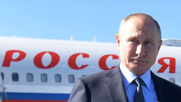 Vladimir Poutine à Istanbul - Sputnik France