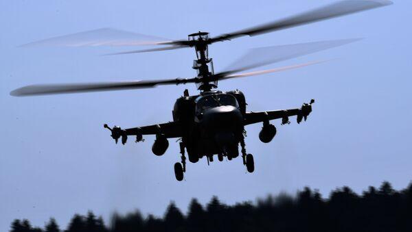 Un hélicoptère Ka-52 (image d'illustration) - Sputnik France