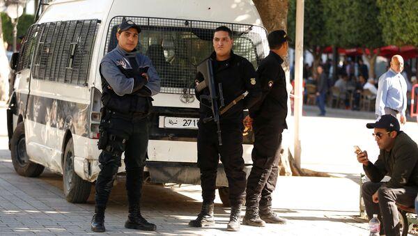Sur les lieux de l'explosion à Tunis - Sputnik France