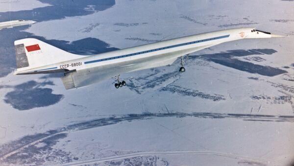 Tupolev Tu-144 - Sputnik France