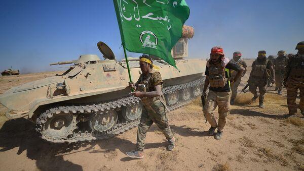 Une opération conjointe des combattants des Hachd al-Chaabi et les forces irakiennes (archive photo) - Sputnik France