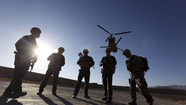 Des soldats américains en Afghanistan (photo d'archives) - Sputnik France