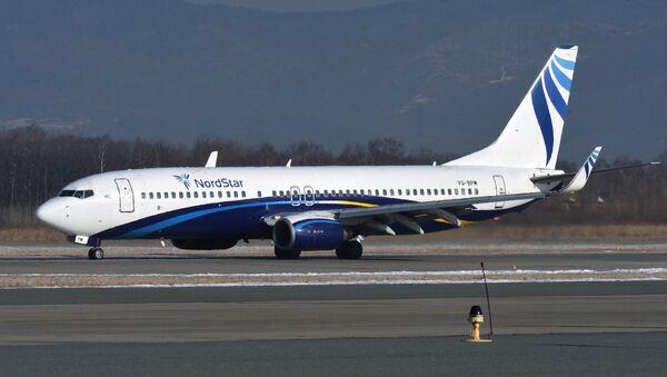 Un Boeing 737-800 de la compagnie aérienne NordStar - Sputnik France