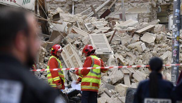 L'effondrement d'un immeuble à Marseille - Sputnik France
