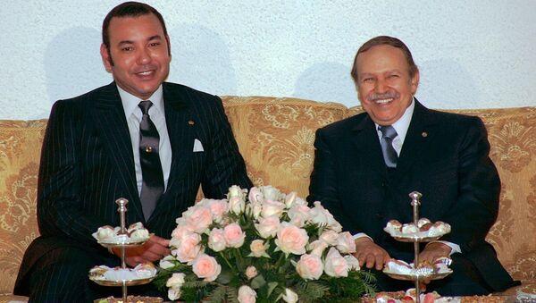 Mohammed VI et Abdelaziz Bouteflika - Sputnik France