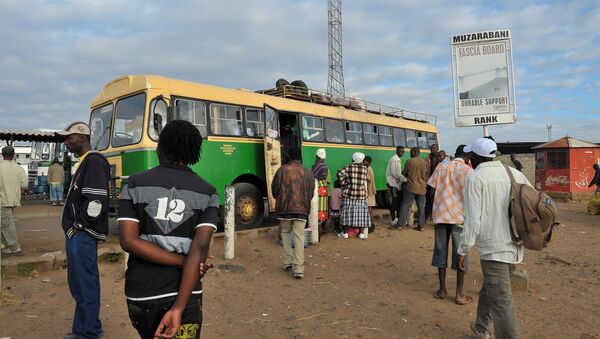 Un bus à Harare (image d'illustration) - Sputnik France