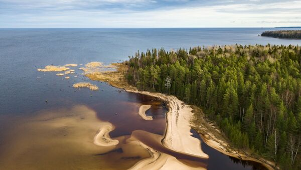 Le lac Onega au cœur de la taïga et d'un réseau d'une cinquantaine de rivières - Sputnik France