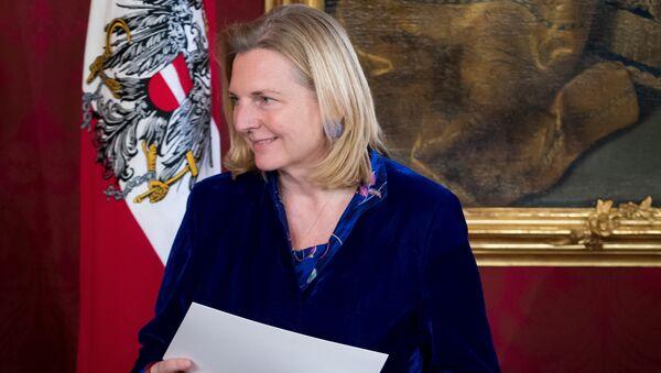 Karin Kneissl - Sputnik France