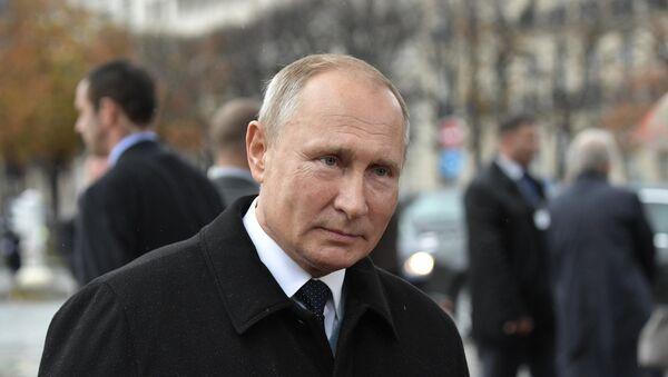 Vladimir Poutine à Paris - Sputnik France
