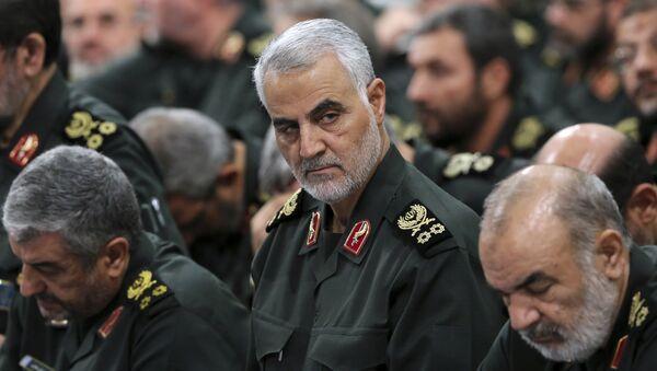 Le général Qassem Soleimani, commandant de l'unité spéciale Al-Qods du Corps des gardiens de la révolution islamique - Sputnik France